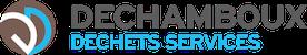 Logo de DECHAMBOUX DECHETS SERVICES spécialiste de la collecte des déchets dangereux